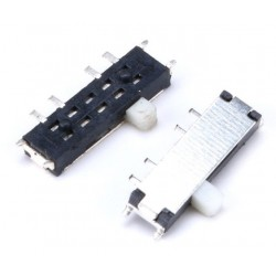 Slide switch MSK-12C03,SMD 8pin,3 positions